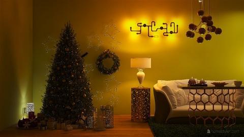 Christmas  - Living room  - by malithu damsath