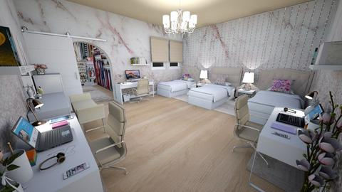 family home 121 - Modern - Bedroom  - by Stavroula Chatzina