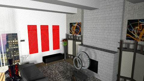 New York Wonders  - Modern - Living room - by 1930