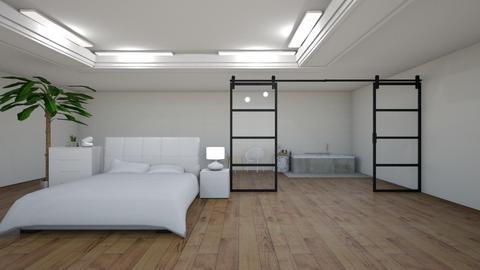 blurry sleep - Bedroom  - by natalieeyauu