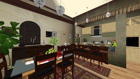 Oazis kitchen - Kitchen  - by DMLights-user-1468788