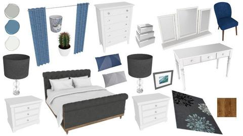 Bedroom-moodboard - by cdefar