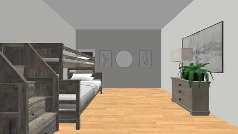 Tween Room  - Modern - Bedroom  - by RosieDraws