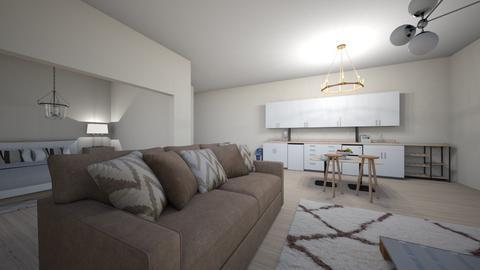mini apartment - Modern - Bedroom  - by oyennnnn