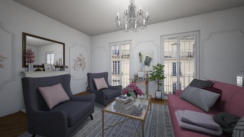 parisian apartment  - by Salome Almaguer