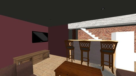 basement - Vintage - by zombiehand