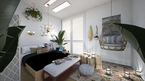 My messy room - Bedroom  - by kiwimelon711