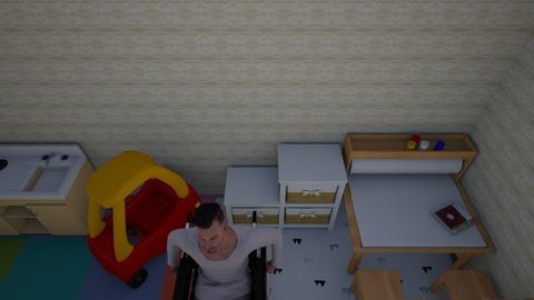 Cripple Paridise - Kids room  - by PhattyCatty17