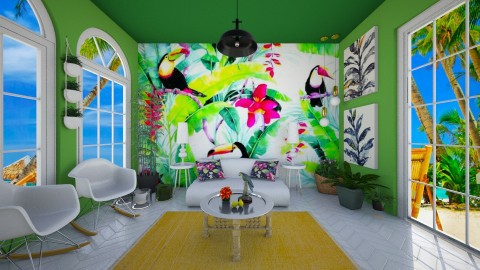 Tropical - Living room - by FranChi