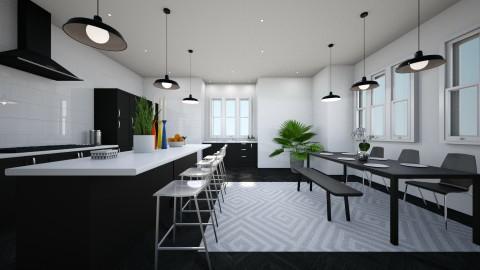 family kitchen - Kitchen  - by designer210