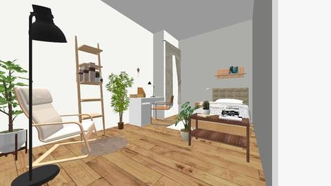 Basement bedroom - Minimal - by niannnn