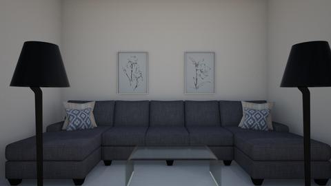 Living Area  - Living room - by RosieDraws