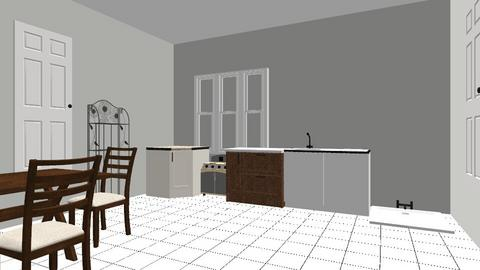 dapoer - Classic - Kitchen - by rikana