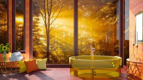 golden bathroom - Bathroom  - by MonicaMV