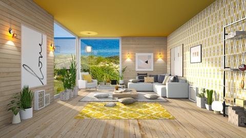 Oak Sea - Living room  - by Ferplace