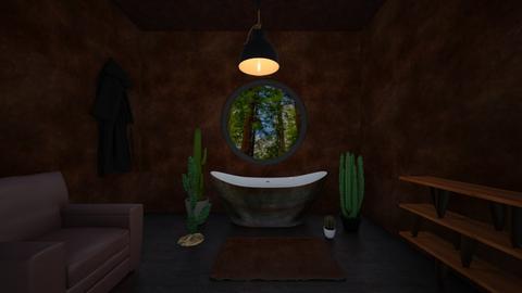 Cocoa bath - Rustic - Bathroom  - by hannahelise1 and louisebelle