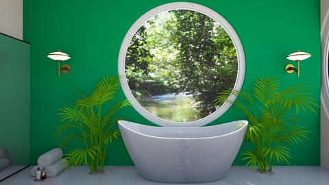 Tropical - Bathroom  - by Meghan White