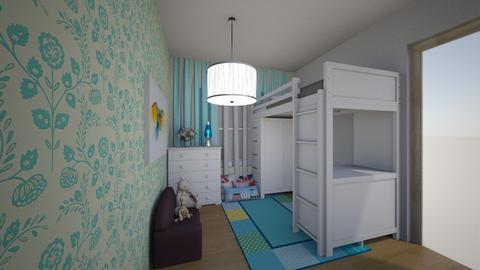 detsky pokoj - Kids room  - by HanaDocekalova