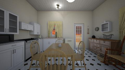 Country Kitchen  - Kitchen  - by mspence03