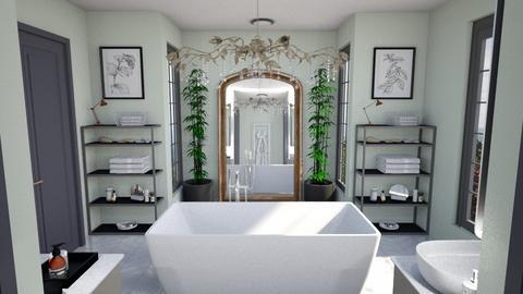 bathroom - by pfeilmarissa