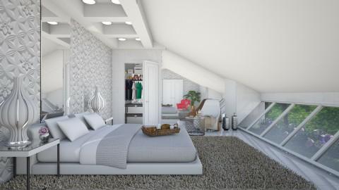 in the roof  - Modern - Bedroom  - by Ida Dzanovic