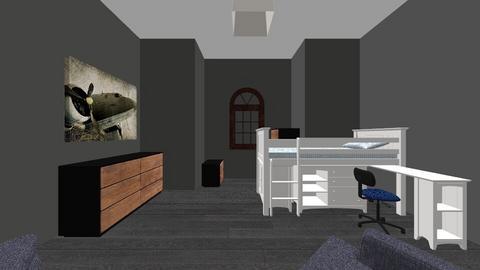 Big Bedroom  - Modern - Bedroom  - by riordan simpson
