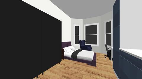 Olav Kyrres Gate 2 - Living room  - by Hakonwj