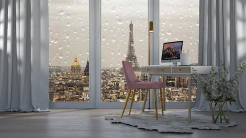 Stormy Day Office - Office  - by ivetyy1010