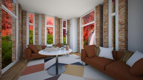 canyon room - Living room - by imanne4