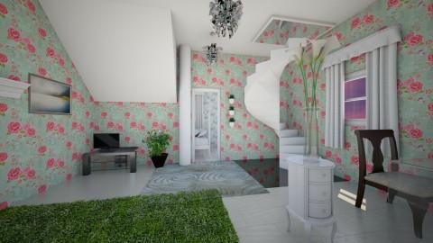 fancy - Living room - by India Arwyn