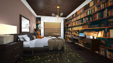 Bookworm Bedroom - Bedroom  - by ItsKalaniOfficial