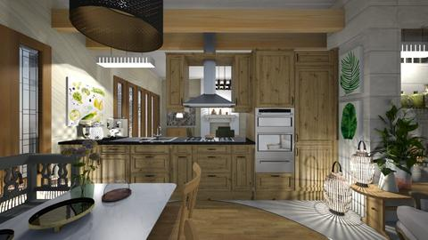IP Artisan Kitchen - Kitchen - by ana111