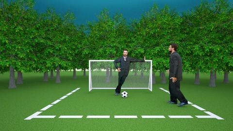 Football Pitch - Garden  - by Adogworld