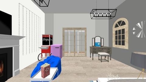 FCS room  - Modern - Bedroom  - by allrlore29