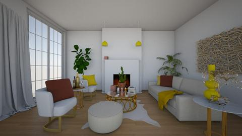 Modern Livingroom - Living room - by KaitlynL92