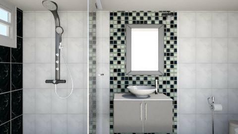 oscar1ao02 - Bathroom  - by arturo lagunes villegas