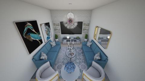 salon - Living room  - by victoriakandy