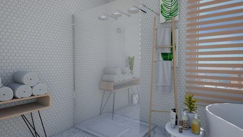 Calm Studio Bath View4 - Modern - Bathroom - by musicdesign22