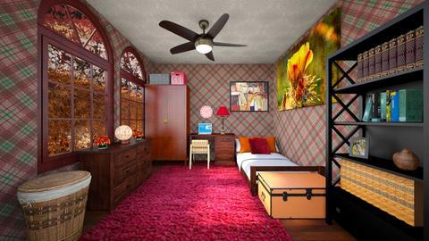 Cinder Haze - Bedroom - by scourgethekid