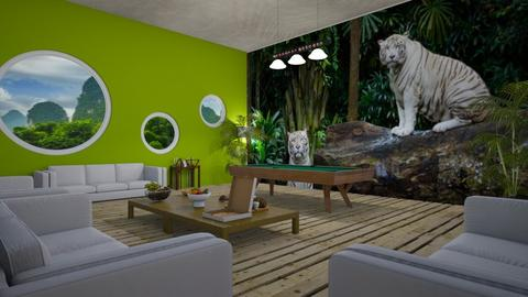 Teen Hang - Living room  - by Riordan Simpson