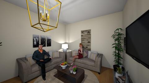 MIYUKI - Minimal - Living room  - by Isnanurkh16
