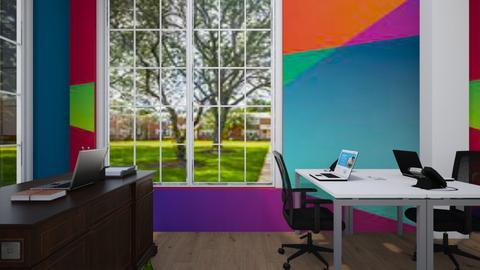 Floor plan - Office  - by Jeycie Designs