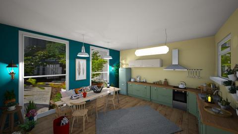 my sweet kitchen - Country - Kitchen  - by amilya