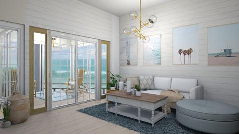 Beach Living - Modern - Living room  - by deleted_1623825262_Lulu12345678910