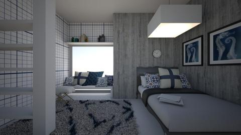 Small Bedroom 4 - Modern - Bedroom  - by XiraFizade