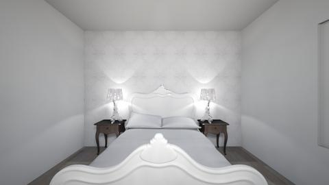White Bedroom - Glamour - Bedroom  - by Jenna2008