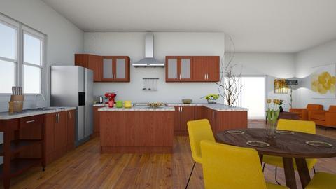 Autumn Kitchen - Eclectic - Kitchen  - by shelleycanuck