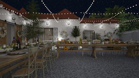 Le Mariage - Rustic - Garden  - by Claudia Correia