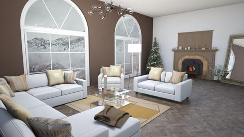 Christmas living room - Living room  - by luciee_paul