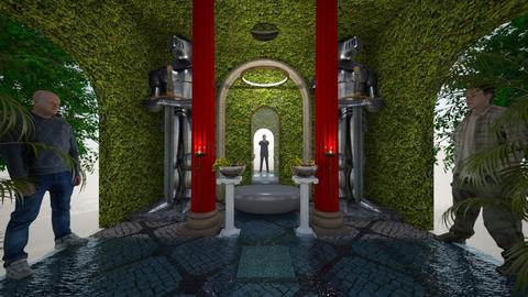 Temple of Way Norther - Glamour - Dining room - by Wayfarer of Rither Fall